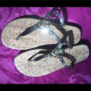 Michael Kors flip flops/sandals